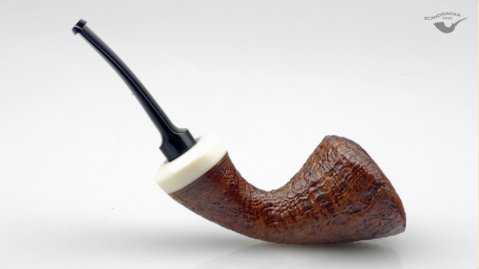 Sandblasted Horn