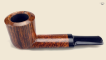 Oval shank Billiard